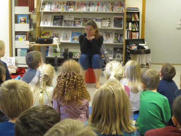 Fra stor til liten har besøkt barnehager og skoler i Vest-Agder