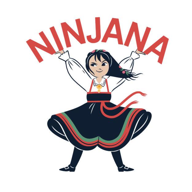 Ninjana har fått sin egen logo